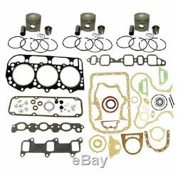 1109-D201 Ford New Holland Parts Engine Base Kit 201 ENG 4000 4600 4610 4630