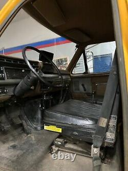 1991 Marmon Herrington/Ford F-800 4x4 Dump Truck