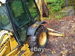 1995 Ford/New Holland 455D Loader Backhoe 4x4 Extend a Hoe