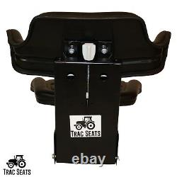 Black Ford / New Holland 600 601 800 801 Waffle Tractor Suspension Seat
