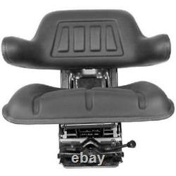 Black Universal Waffle Suspension Seat Fits Ford/Fits New Holland 5100 Tractor