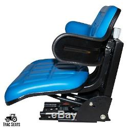 Blue Ford / New Holland 3320 3330 3400 4330 4340 Waffle Tractor Suspension Seat