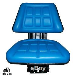 Blue Ford / New Holland 600, 601, 800, 801 Triback Tractor Suspension Seat