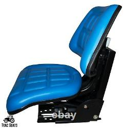 Blue Ford /new Holland 2n 8n 9n Naa, 640 Triback Style Tractor Suspension Seat