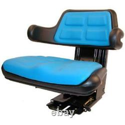 Blue Wrap Around Seat Back with Arms Fits Ford Fits New Holland KV Universal Produ