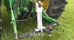 Farm Duty 2 trailer mover category 1 & 2 tractor receiver hitch implement 3 pt