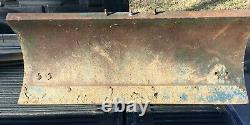 Ford New Holland 42 Lawn Garden Tractor Snow Sand Gravel Plow Blade Attachment