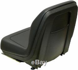 Ford New Holland Skid Steer Seat Blk Fits Lx465, Lx485, Lx565, Lx665, Lx865 #qh