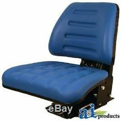 Ford New Holland Tractor & Compact Tractor Full Suspension Seat E9nn400aa