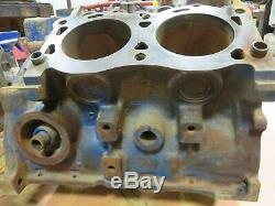 Ford / Newholland FO V4 Engine Block Used 73TM6015NA-002 Has A Ding On Back