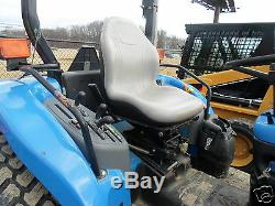 Gray Seat Fits Ford New Holland Tc Compact Tractors, Tc25,29,33,40,45 #eb