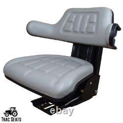 Grey Suspension Seat Fits Ford /new Holland 600 601 800 801 860 Tractor