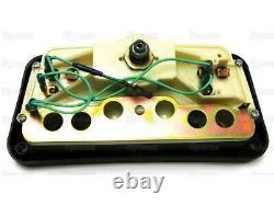 Instrument Cluster for Ford Tractor 234 334 335 340 445 455 530 555 655+ Backhoe