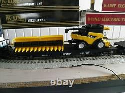 K-line By Lionel Ford New Holland Train Set