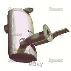 Muffler for Ford New Holland Industrial Models 455C 455D 555C 555D 575D 85999357