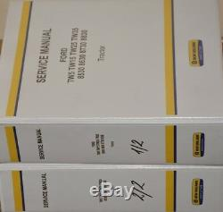 NEW HOLLAND FORD TW5 TW15 TW25 TW35 8530 8630 8730 8830 Service Manual Repair