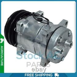 New A/C Compressor for Case COMBINE, TRACTOR / FORD NEW HOLLAND TRACTOR