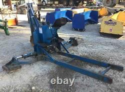 New Holland 7570 Hydraulic Backhoe Attachment, Subframe & Bucket Fits Ford 1715