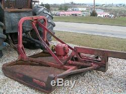 New Holland / Ford 7610 Farm Tractor 4x4 Forestry Package With Brown Bush Cutter