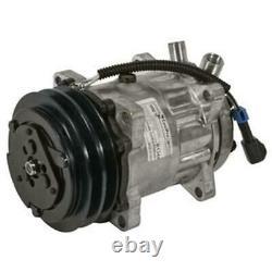 Skid Steer A/C Compressor Fits New Holland C185 C190 LS180