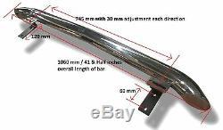 To Fit New Holland Zetor Massey Ferguson Ford Tractor Roof Bar + Flush LEDs x5