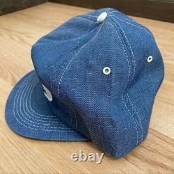 Vintage Ford New Holland Denim Patch Trucker Hat Adjustable Snap Back K Products