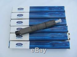 (x6) Fuel Injectors New Holland Tractor Ford 7.8L Brazil Diesel F0HZ-9E527-A
